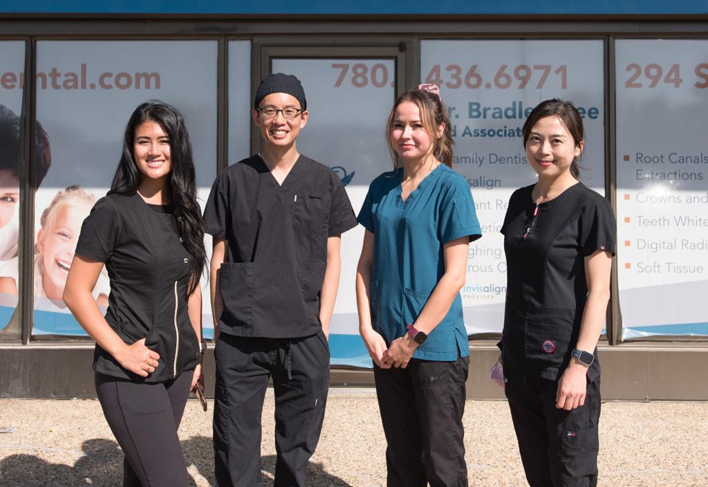 Blue Quill Dental Centre - Team photo